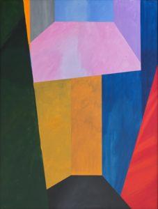 guy de rougemont - espace fictif painting 1996