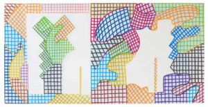 guy de rougemont - felt on canvas untitled 2013