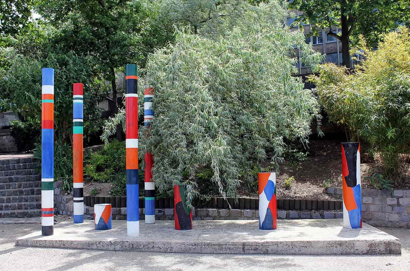 guy de rougemont - interpretation de deux espaces 1975 newsletter art comes to you 5