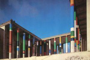 guy de rougemont - mise en couleurs musee art moderne paris 1974 sculpture