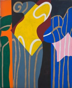 guy de rougemont - peinture sans titre 2001