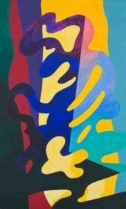 guy de rougemont - peinture sans titre 2005