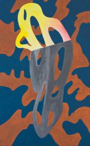 guy de rougemont - sans titre acrylique 2005