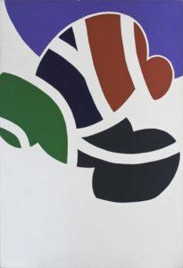 guy de rougemont - sans titre peinture 1965
