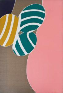 guy de rougemont - sans titre peinture 1967