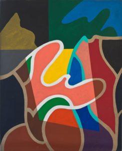 guy de rougemont - sans titre peinture 2001