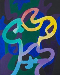 guy de rougemont - sans titre peinture 2004