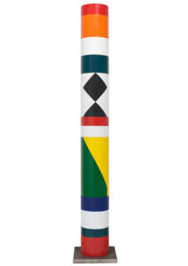 guy de rougemont - totem painted pvc 2019