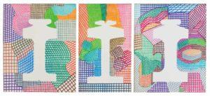 guy de rougemont - triptych untitled 2013