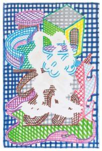 guy de rougemont - untitled 2012 canvas felt