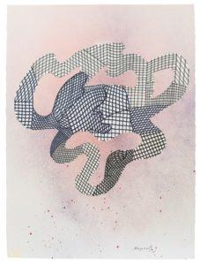 guy de rougemont - untitled 2013 felt on paper