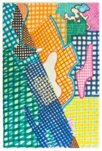 guy de rougemont - untitled canvas felt 2012