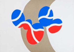 guy de rougemont - untitled painting 1970