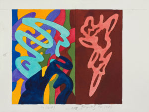 guy de rougemont - watercolor 2000 ca paper untitled