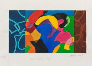 guy de rougemont - watercolor dans l arriere pays 2000