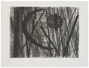 hans hartung - etching g 11 1953