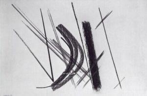 hans hartung - lignes dans espace 42 1950 newsletter art comes to you 7