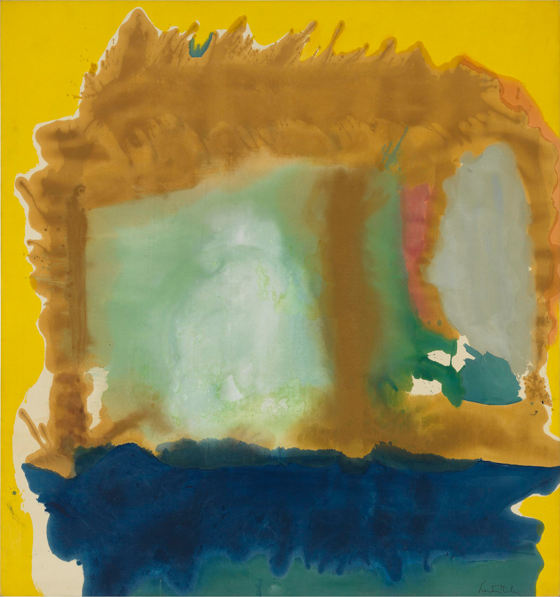 helen frankenthaler - milkwood arcade 1963-newsletter art comes to you 10