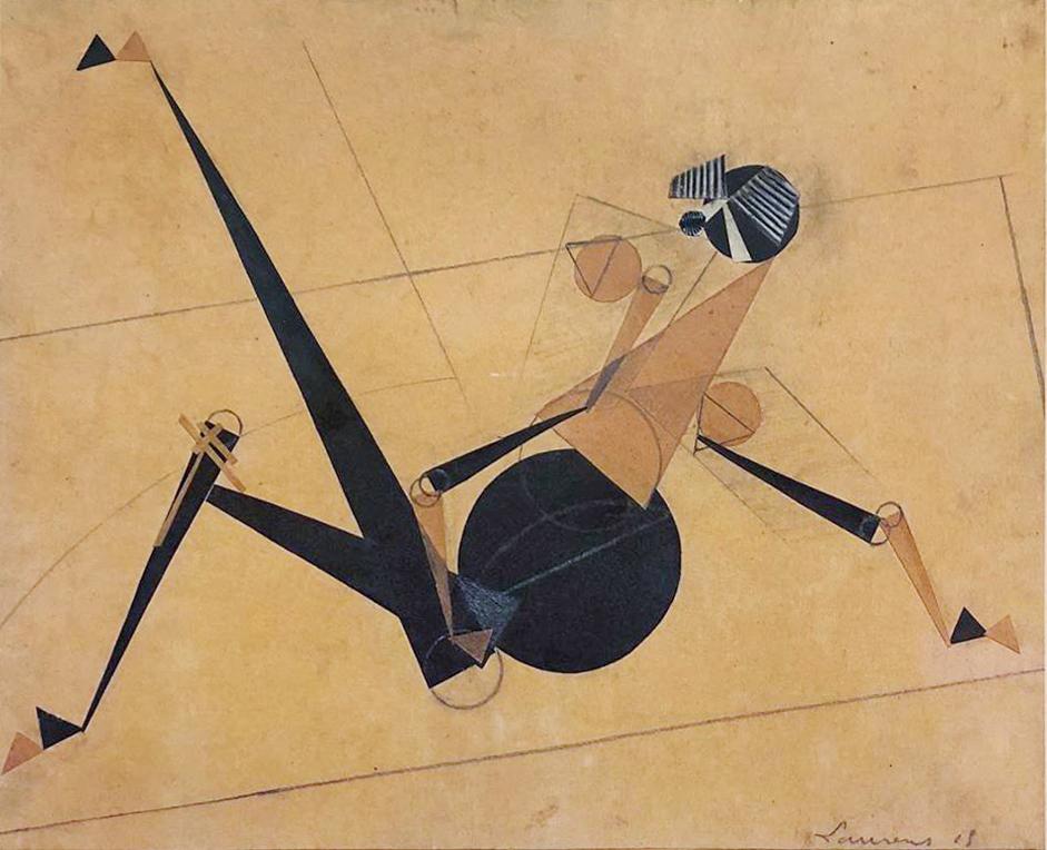 henri laurens - josephine baker 1915 newsletter art vient a vous 9