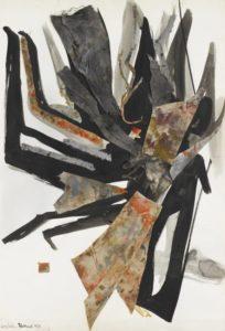 huguette arthur bertrand - grand collage 1965 newsletter art vient a vous 7