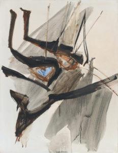 huguette arthur bertrand - le petite caporal epingle 1962 1963 painting