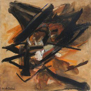 huguette arthur bertrand - migration 1965 painting