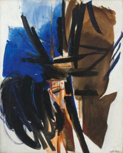 huguette arthur bertrand - raz de maree 1960 painting