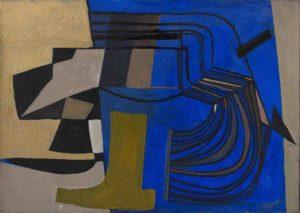 Huguette Arthur Betrand - sans titre peinture 1951 newsletter art vient a vous 7
