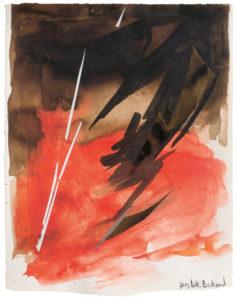 huguette arthur bertrand - untitled 1960 paper