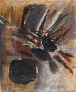 huguette arthur bertrand - sans titre huile 1963