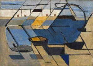 huguette arthur bertrand - sans titre peinture 1949 newsletter art vient a vous 7