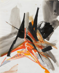 huguette arthur bertrand - untitled 1960 ca painting
