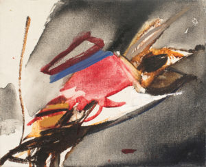 huguette arthur bertrand - untitled 1966 painting