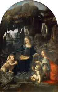 leonard de vinci - la vierge aux rochers 1483 1486 newsletter art vient a vous 8