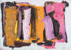 lois frederick - 1960 untitled gouache india ink