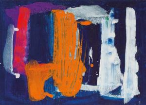 lois frederick - acrylic untitled 1960