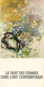lois frederick - exhibition la part des femmes dans l art contemporai 1984