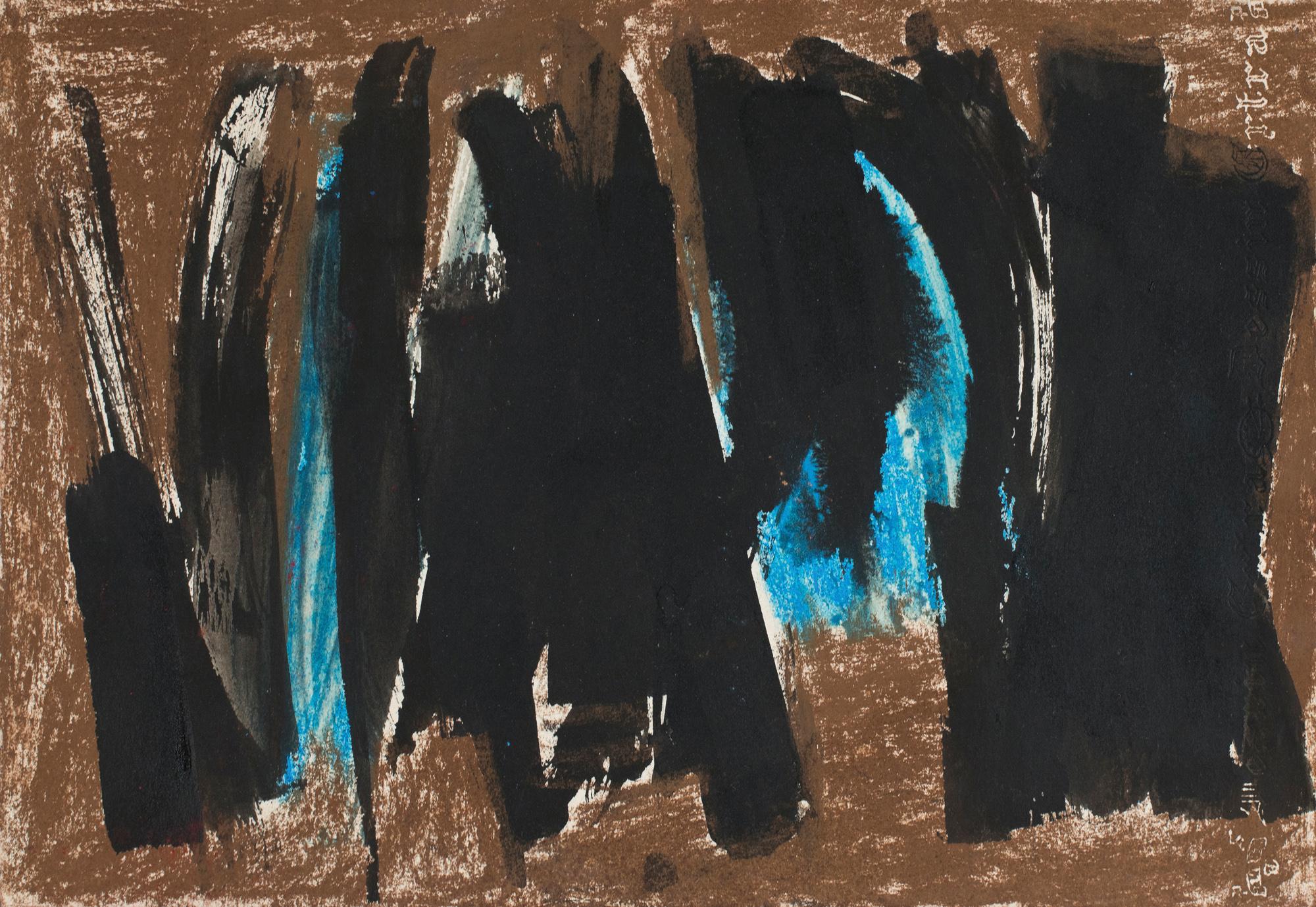 lois frederick - gouache untitled 1960