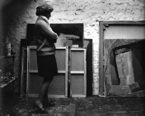 lois frederick - les audigiers 1970 portrait