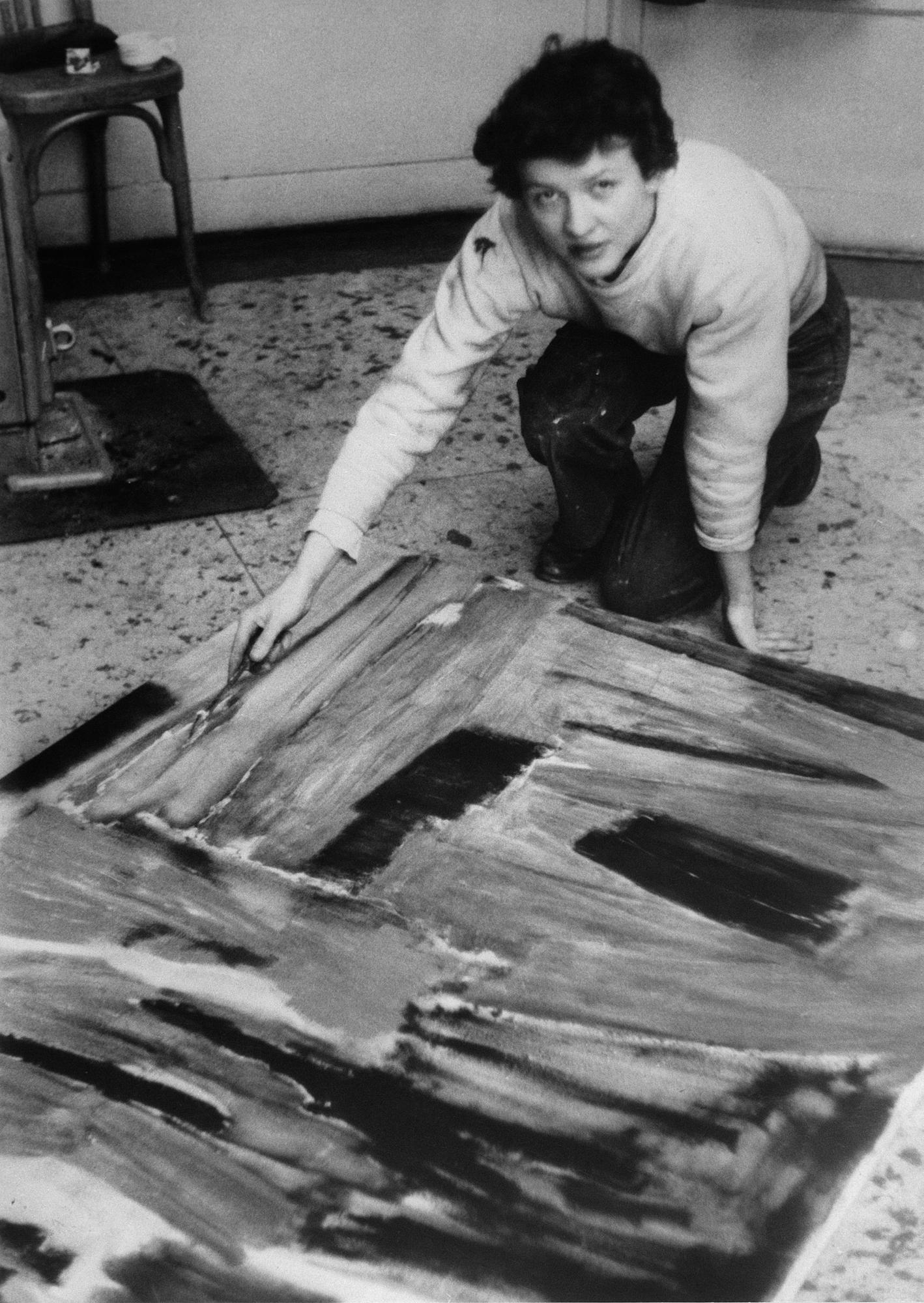 lois frederick - portrait photographie 1953 1954