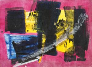 lois frederick - untitled acrylic 1968