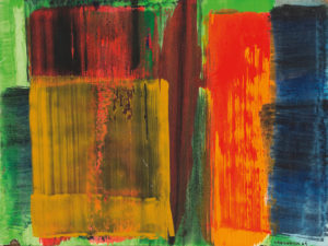 lois frederick - untitled acrylic 1969