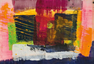 lois frederick - untitled acrylic paper 1980