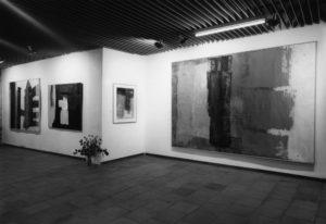 lois frederick - vue exposition peintures et gouaches galerie suisse paris 1984