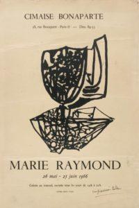marie raymond - exhibition peintures 1960 1966 cimaise gallery paris