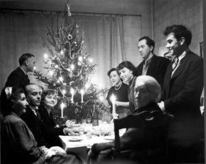 marie raymond - gerard schneider hans hartung pierre soulages christmas dinner 1948