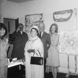 marie raymond - gildas fardell nina kandinsky paris 1954