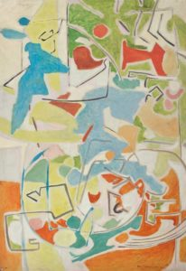 marie raymond - oil painting untitled 1953