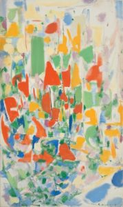 marie raymond - painting essor 1961