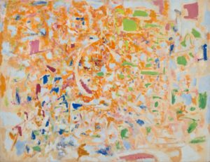 marie raymond - painting untitled c 1963